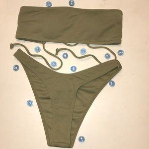 Zaful Bandeau Bikini